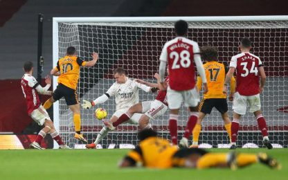 Arsenal-Wolves 1-2