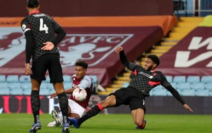 Aston Villa-Liverpool 7-2: gol e highlights