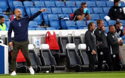 Brighton-Manchester City 0-5