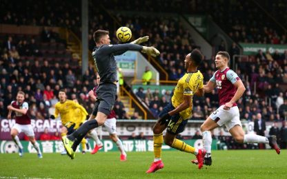 Burnley-Arsenal 0-0