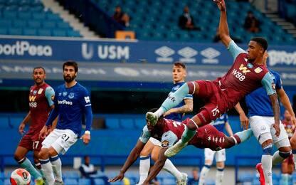 Everton-Aston Villa 1-1