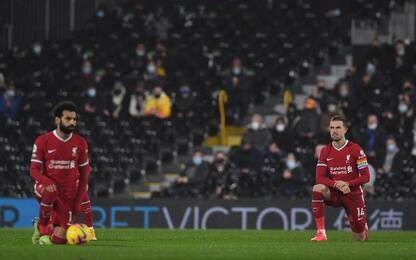 Salah salva il Liverpool: 1-1 con il Fulham