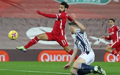Liverpool fermato dal West Brom: è 1-1 ad Anfield