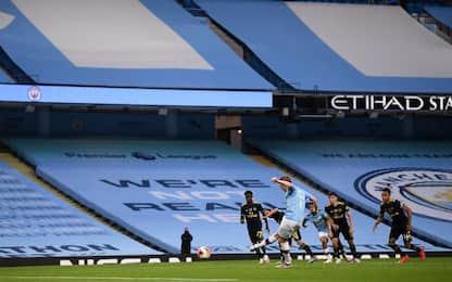 Man City-Arsenal 3-0
