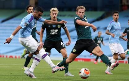 Man City-Burnley 5-0