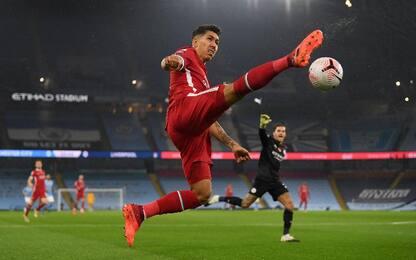 Man City-Liverpool 1-1