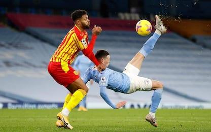 Man City-West Bromwich Albion 1-1