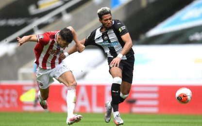 Newcastle-Sheffield United 3-0