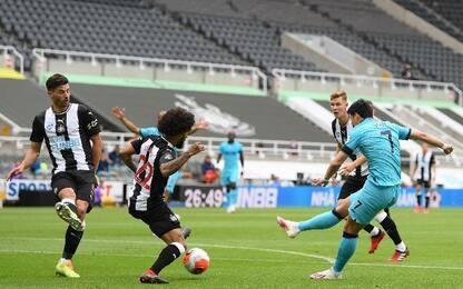 Newcastle-Tottenham 1-3