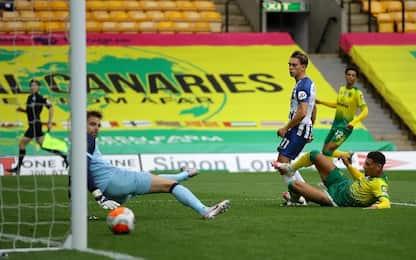 Norwich City-Brighton 0-1