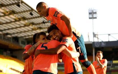 Norwich City-Everton 0-1