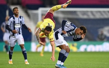 West Bromwich Albion-Burnley 0-0