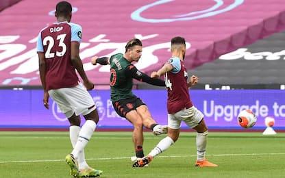 West Ham-Aston Villa 1-1
