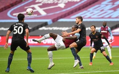 West Ham-Man City 1-1