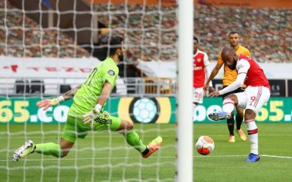Wolves-Arsenal 0-2