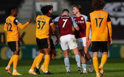 Wolves-Aston Villa 0-1