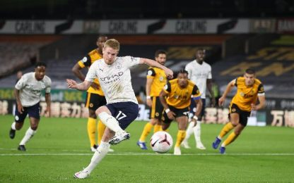 Wolves-Man City 1-3