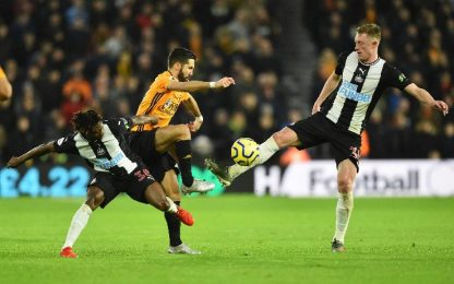Wolves-Newcastle 1-1