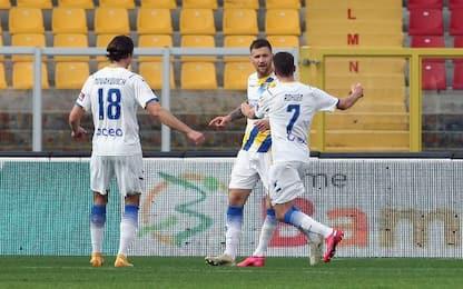 Lecce-Frosinone 2-2