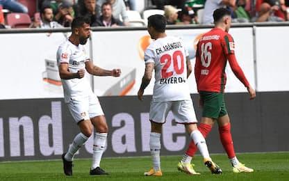 Augsburg-Leverkusen 1-4