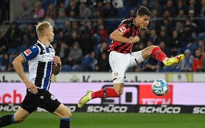 Arminia Bielefeld-Leverkusen 0-4