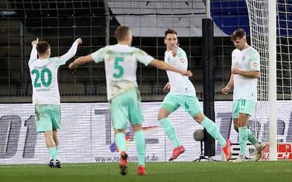 DSC Arminia Bielefeld-Werder Brema 0-2