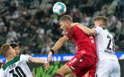 Monchengladbach-Arminia Bielefeld 3-1