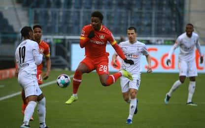 Monchengladbach-Leverkusen 0-1