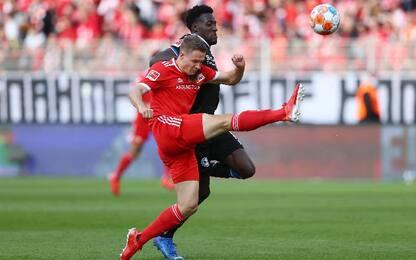 Union Berlino-Arminia Bielefeld 1-0