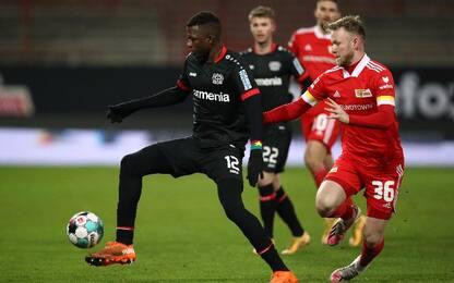 Union Berlino-Leverkusen 1-0