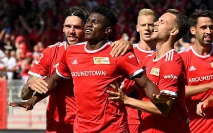 Union Berlino-Leverkusen 1-1
