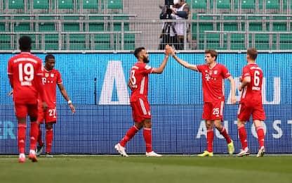 Wolfsburg-Bayern 2-3