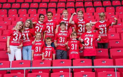 AZ-Go Ahead Eagles 5-0