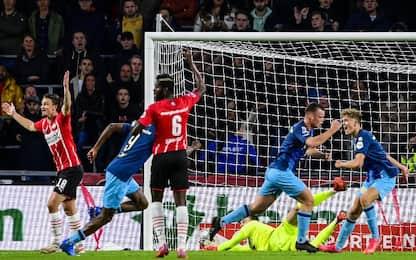 PSV-Sparta Rotterdam 2-1