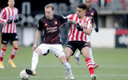 Sparta Rotterdam-Feyenoord 0-2