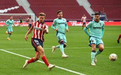 Atletico Madrid-Levante 0-2