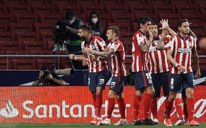 Atletico Madrid-Real Sociedad 2-1