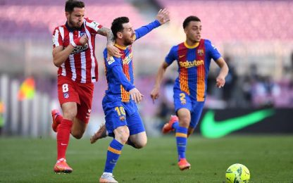 Barcellona-Atletico Madrid 0-0
