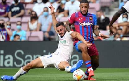 Barcellona-Getafe 2-1