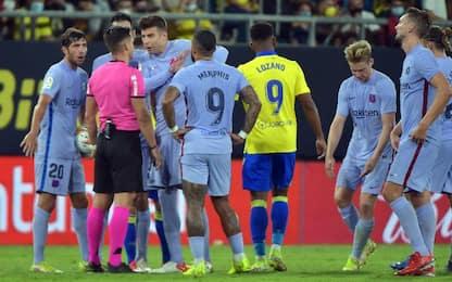Cadice-Barcellona 0-0