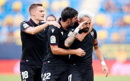 Cadice-Levante 1-1