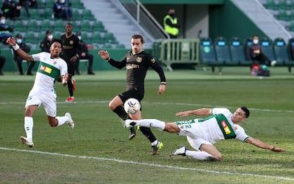 Elche-Barcellona 0-2