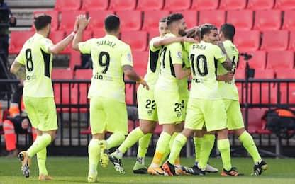 Granada CF-Atletico Madrid 1-2