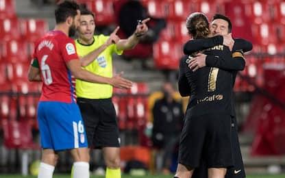 Granada CF-Barcellona 0-4