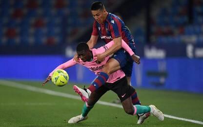 Levante-Barcellona 3-3