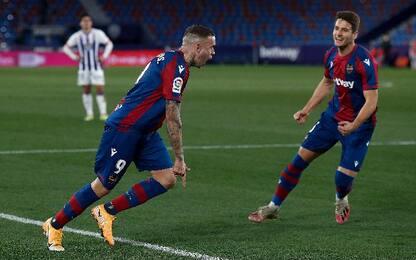 Levante-Valladolid 2-2