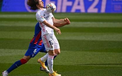 Real Madrid-Eibar 2-0