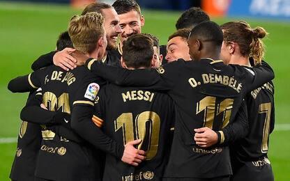 Real Sociedad-Barcellona 1-6