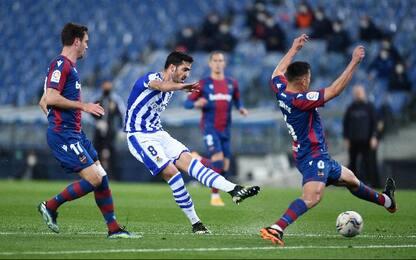 Real Sociedad-Levante 1-0