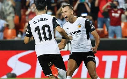 Soler su rigore, Valencia-Getafe 1-0